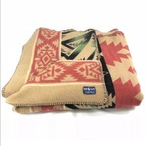 Ralph Lauren Southwest Indian Wool blanket throw